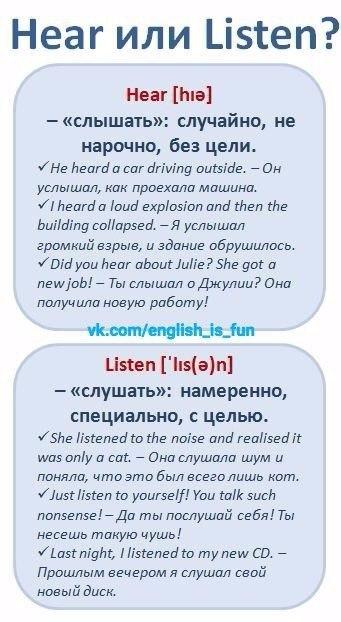 hear-listen