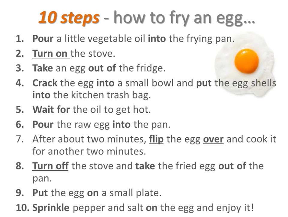 try an egg