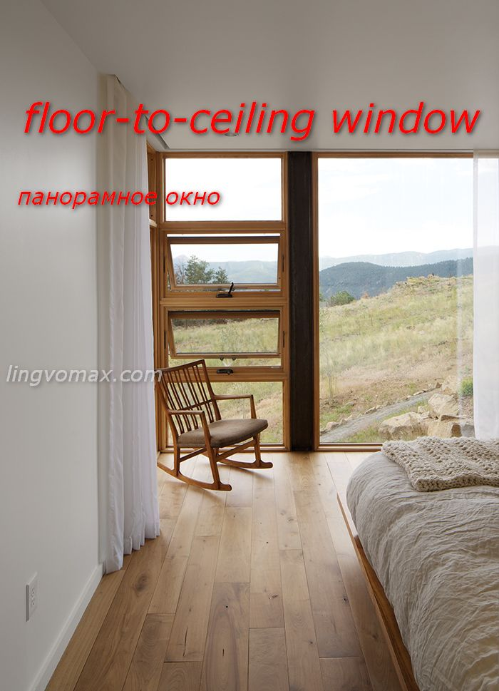 floor-to-ceiling window