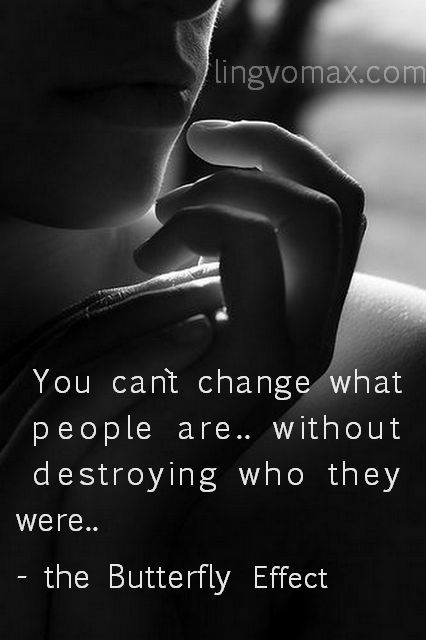 change people